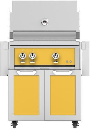 Hestan  852463 Natural Gas Grill Yellow, Main Image
