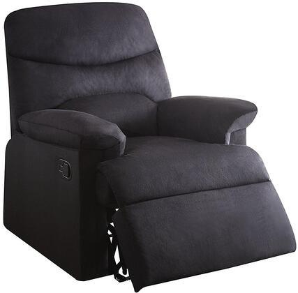 Acme Furniture Arcadia 00701 Recliner Chair Black, 1
