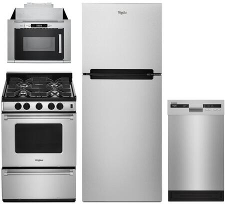 Whirlpool 1127512 Kitchen Appliance Package & Bundle Stainless Steel, Main image
