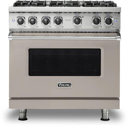Viking 5 Series VGR5366BPGLP Freestanding Gas Range Gray, VGR5366BPGLP Gas Range