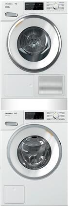Miele 890686 Washer & Dryer Set White, Main Image