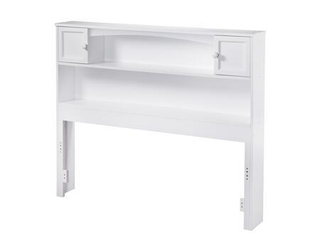 Atlantic Furniture Newport AR285832 Headboard White, AR285832 SILO F 180