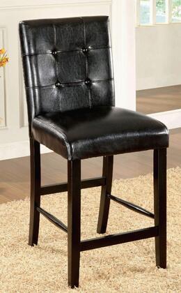 Furniture of America Bahamas CM3188BKPC2PK Bar Stool Black, Main Image