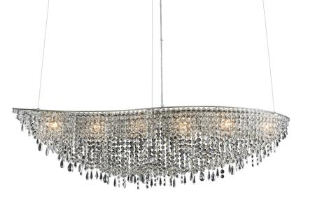 Voltare 029060-010-FR001 48″ Wave Island in Chrome Finish with Firenze