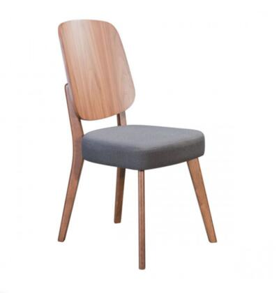 Zuo Alberta 100981 Dining Room Chair, 100981 Front