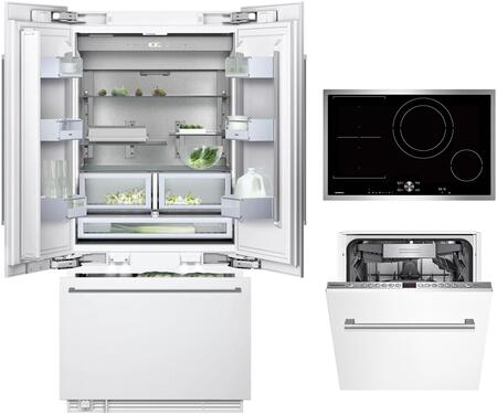 Gaggenau Deals 400 Series 1357442 Kitchen Appliance Package Panel Ready, Main image