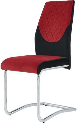 Global Furniture USA Global Furniture USA D1021DCBLKRED Dining Room Chair Red, products global furniture color d1021dc   1131074325 d1021dc blk red b2