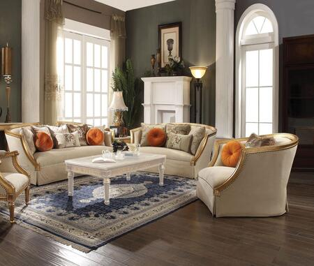 Acme Furniture Daesha 508353SET Living Room Set Beige, Living Room Set