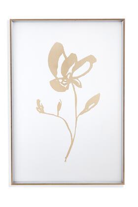 Bassett Mirror Metro 9901209A Wall Art White, 9901 209A
