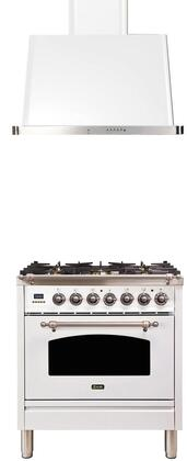 Ilve  1312663 Kitchen Appliance Package White, Main Image