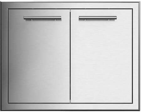 XOG30DD 30″ Double Access Door with 304 Stainless Steel Construction and Soft Close Hinges in Stainless