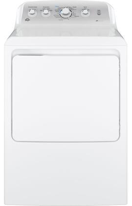GE  GTD45EASJWS Electric Dryer White, Main View