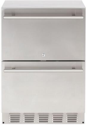 Sapphire  SRD24OD Drawer Refrigerator Stainless Steel, SRD24-OD Drawer Refrigerator