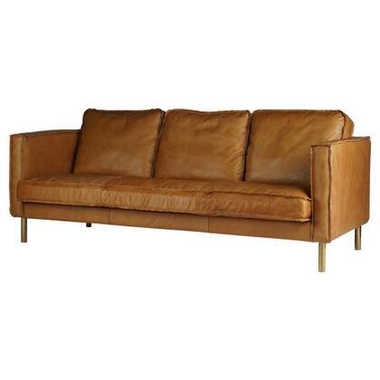 Yosemite Leather Luxury 250041 Stationary Sofa, Main Image