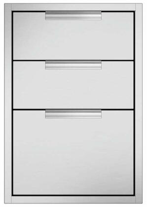 DCS TDT120 Storage Drawer Stainless Steel, Main Image