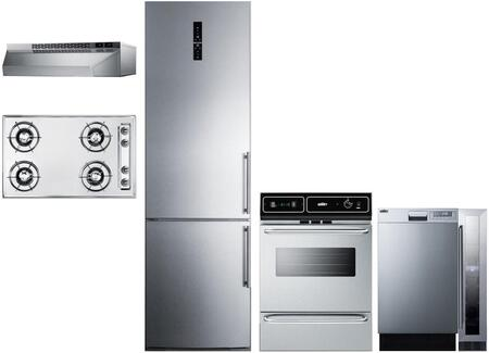 Summit 1114296 Kitchen Appliance Package & Bundle Stainless Steel, main image