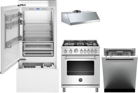 Bertazzoni 1054902 Kitchen Appliance Package & Bundle Panel Ready, main image