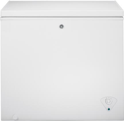 GE  FCM7SKWW Chest Freezer White, Main Image