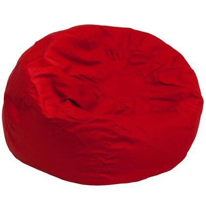 Flash Furniture DGBEAN DGBEANLARGESOLIDREDGG Bean Bag Chair Red, DGBEANLARGESOLIDREDGG