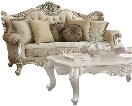 Acme Furniture Bently 50660 Stationary Sofa Beige, 1