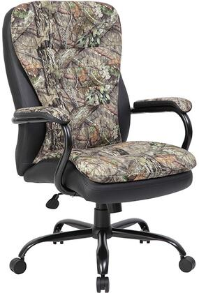 B991-MO Heavy Duty Double Plush Mossy Oak Chair  In 400 Lbs.   In