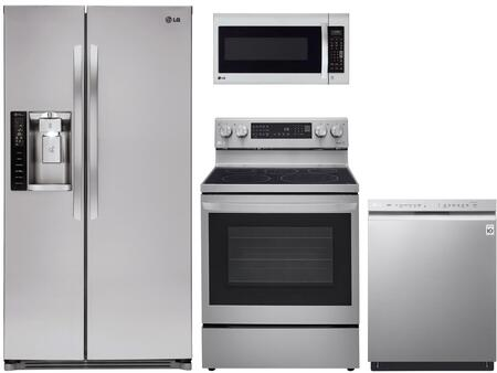 LG  1333029 Kitchen Appliance Package Stainless Steel, Main image