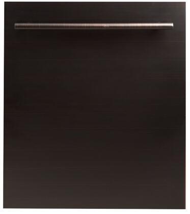 ZLINE DWORB24 Built-In Dishwasher Bronze, DW-ORB-24 Oil-Rubbed Bronze Dishwasher