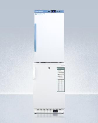 AccuCold  ARS3PVADA305AFSTACK Top Freezer Refrigerator White, ARS3PV-ADA305AFSTACK Medical Refrigerator Freezer Combo
