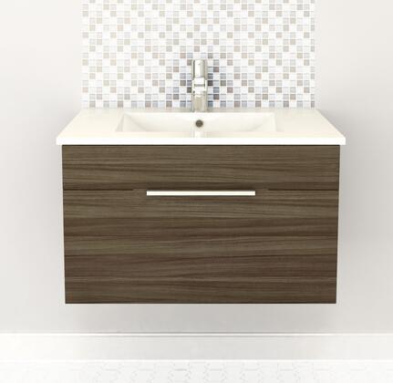 Cutler Kitchen and Bath Textures FVDW30 Sink Vanity Brown, Main Image