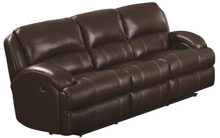 Myco Furniture Capri CA800SBR Motion Sofa Brown, 1