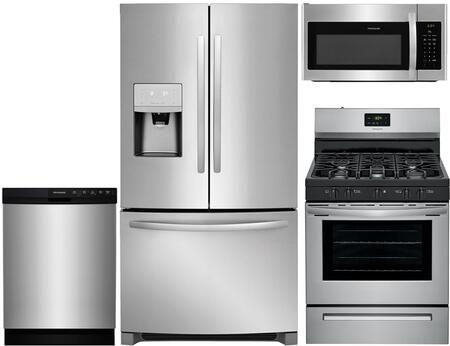 Frigidaire 918306 Kitchen Appliance Package & Bundle Stainless Steel, 1