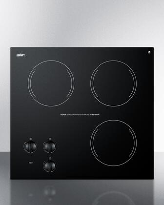 Summit  CR3240 Electric Cooktop Black, CR3240 Electric Cooktop