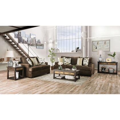 Furniture of America Taliyah SM3081SF Stationary Sofa Multi Colored, SM3081 SF 1