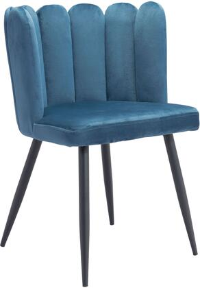 101525 Adele Chair Blue  (Set of