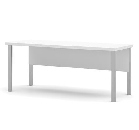 Bestar Furniture Pro-Linea 12040117 Office Desk White, Image 1