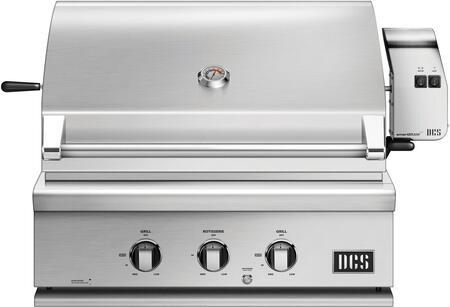 DCS 7 Series BH130R Grill Stainless Steel, Burner Breakdown