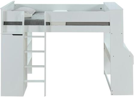 Acme Furniture Ragna 38060 Bed White, Front View