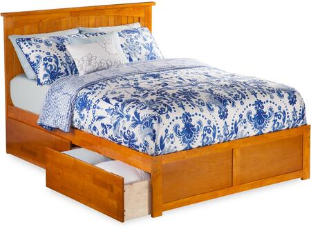 Atlantic Furniture Nantucket AR8252117 Bed Brown, AR8252117
