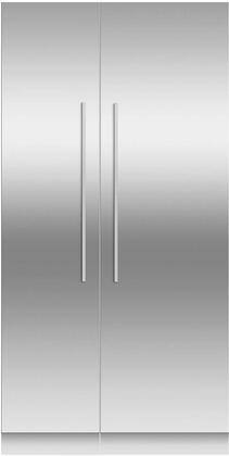 Fisher Paykel  966254 Column Refrigerator & Freezer Set Stainless Steel, Main Image