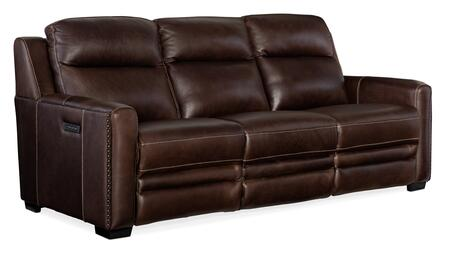 Hooker Furniture MS Series SS631P3088 Motion Sofa Brown, Silo Image