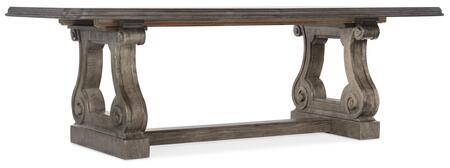 Hooker Furniture Woodlands 58207520084 Dining Room Table, Silo Image
