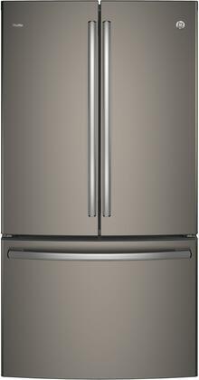 GE Profile  PWE23KMKES French Door Refrigerator Slate, Main Image