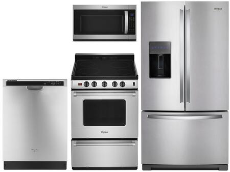 Whirlpool  1009985 Kitchen Appliance Package Stainless Steel, main image