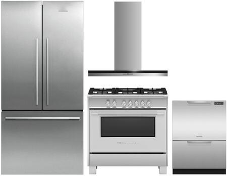 Fisher Paykel 1125226 Kitchen Appliance Package & Bundle Stainless Steel, main image