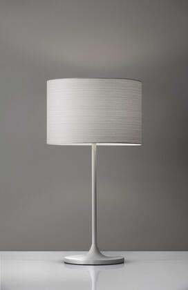 HomeRoots  372789 Table Lamp White, Main Image