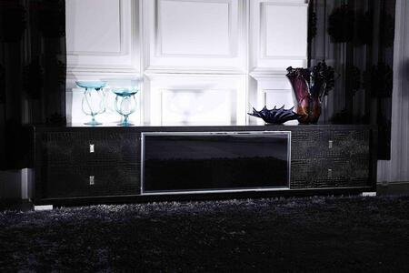 VIG Furniture A & X Leopold VGUNAA519227 52 in. and Up TV Stand Black, 1