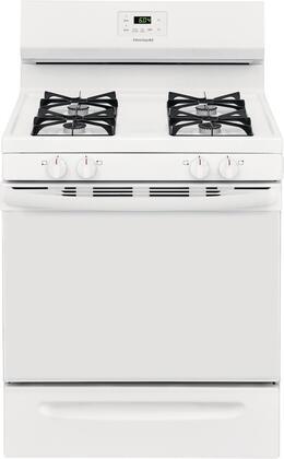 Frigidaire  FCRG3005AW Freestanding Gas Range White, Main Image