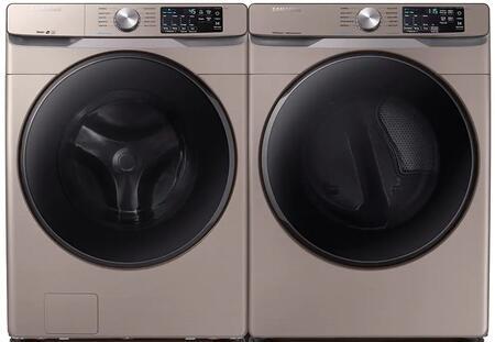 Samsung  1010838 Washer & Dryer Set Champagne, 1