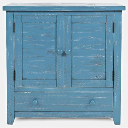 American Folklore Collection 1877-32  Accent Chest – Antique Blue in