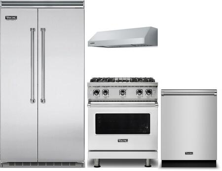 Viking 1052300 Kitchen Appliance Package & Bundle Stainless Steel, Main Image